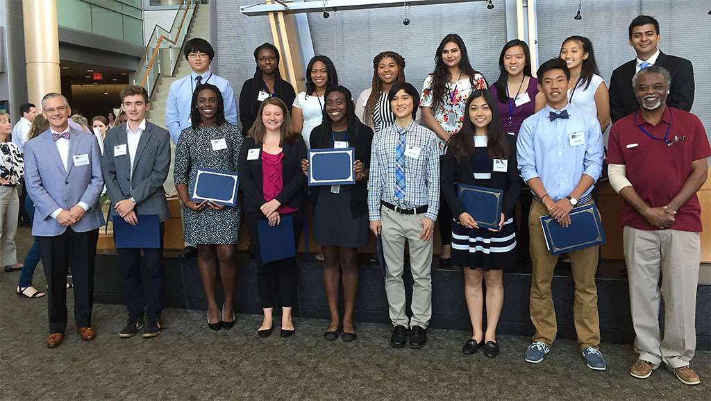 2017 Summer Students from The Recruitment & Training Program for Under-represented Populations