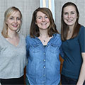 Study Authors Susanne Bäck, Emily Wires and Kathleen Trychta.