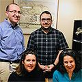 Study Authors Lorenzo Leggio, Mehdi Farokhnia, Mary Lee and Lisa Farinelli