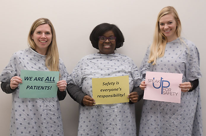 NIDA IRP Archway Clinic Staff Celebrate 2018 Patient Safety Awareness Week