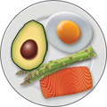 A ketosis-friendly meal